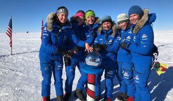 """""""Ледените девици"""" – жените от британската армия, които прекосиха Антарктида с рекорд"""