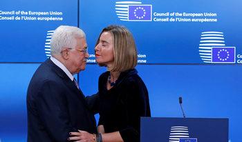 Абас има подкрепата на ЕС за палестинска столица в Източен Ерусалим