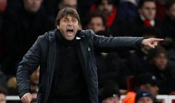 """""""Арсенал"""" ни победи с късмет, смята Антонио Конте"""