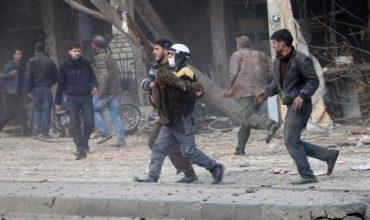 Минометен обстрел в центъра на Дамаск