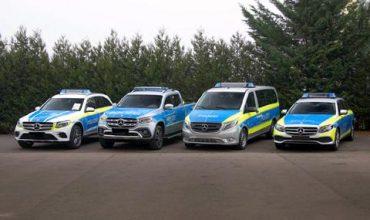 Новите патрулки на Mercedes-Benz