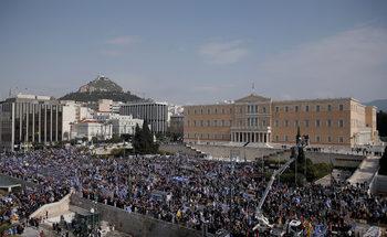 Фотогалерия: Атина събра гнева от цялата страна за името на Македония