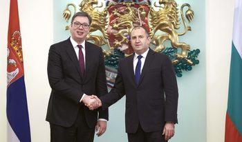 Радев и Вучич искат повече гранични пунктове и завършена магистрала от Ниш до София