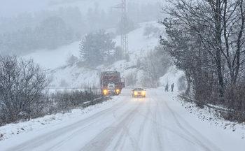 Студ и сняг обхващат цялата страна от днес, Пътната агенция предупреди да се внимава