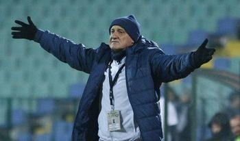 """Футболистите се забавляваха, каза Делио Роси след победата на """"Левски"""""""