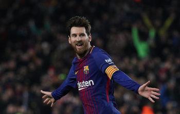 """""""Барселона"""" вкара шест гола на """"Жирона"""" в каталунското дерби"""