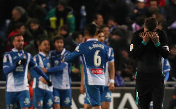 """""""Еспаньол"""" спря победната серия на """"Реал"""" с късен гол"""