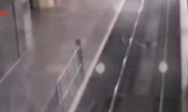 Камера засне влак призрак в Китай (Видео)