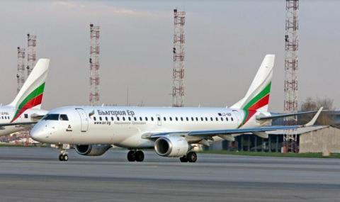Допълнителни полети до Бургас