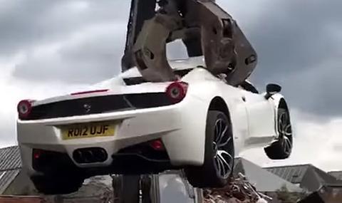 Защо унищожиха това Ferrari?