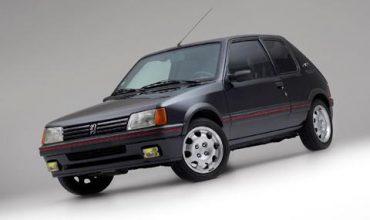 Някой да търси бронирано… Peugeot 205 GTI?