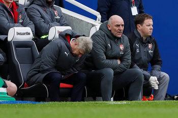 """Фотогалерия: Палитра от емоции – Венгер по време на разочароващата загуба на """"Арсенал"""""""
