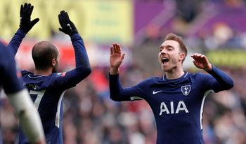 """""""Тотнъм"""" е първият полуфиналист в Купата на Англия"""