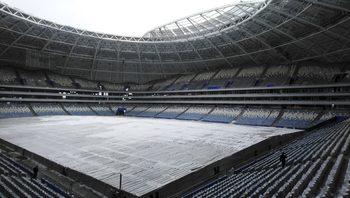Три месеца преди световното първенство стадионът в Самара изостава от графика