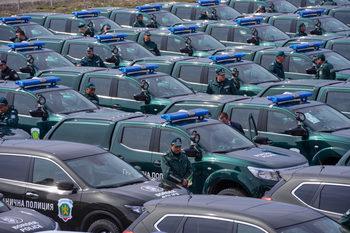 Фотогалерия: Гранична полиция получи нови автомобили