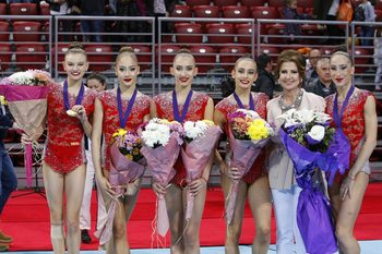 Илиана Раева постави много висока оценка на гимнастичките след Световната купа в София