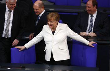 В Германия прехвърчаха искри между водещи фигури в коалицията