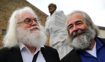 Снимка на деня: Трите лица на Карл Маркс в Трир