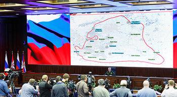 Каква е руската версия за ударите в Сирия