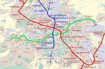 Комисия одобри имената на станциите по третата линия на метрото