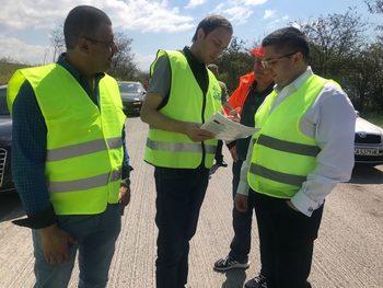 Започна ремонт по Околовръстното шосе край Казичене