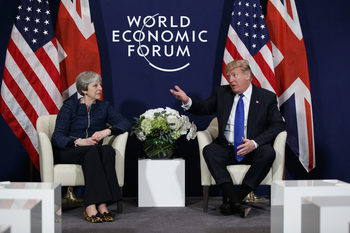 За пръв път Тръмп ще посети Великобритания като президент на 13 юли