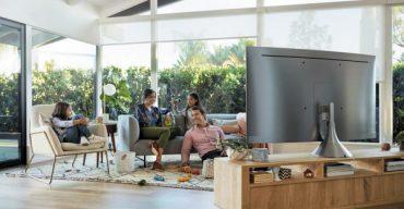 Разделяне на помещението с помощта на телевизора