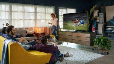 Позициониране на телевизора, съобразено с дизайна на дневната