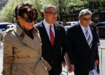 Родителите на Мелания Тръмп са посетили офиса по имиграционни въпроси в Ню Йорк