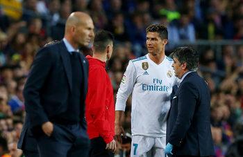 """Роналдо притесни """"Реал"""", но травмата му е лека"""