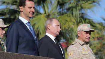 Владимир Путин се срещна с Башар Асад в Сочи