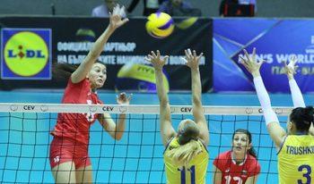 Волейболните националки взеха втора победа в Златната европейска лига