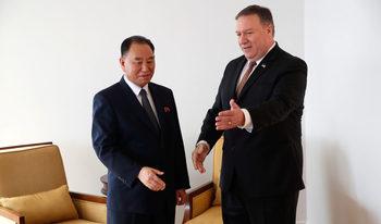 Държавният секретар на САЩ се срещна с високопоставеният пратеник на Северна Корея