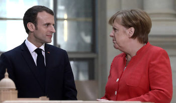 Меркел представи идеите си за реформа на еврозоната, за която настоява Макрон