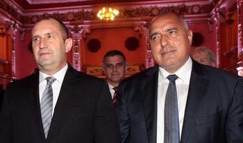 Румен Радев вече не е надпартиен президент, заяви Борисов