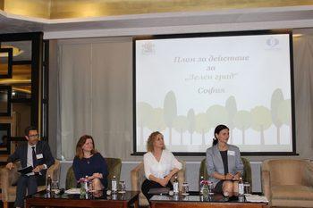 Европейската банка за възстановяване и развитие финансира план София да стане зелен град