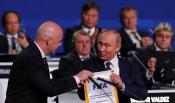 Путин благодари на ФИФА, че е разграничила политиката от спорта