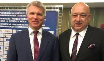 Кралев покани руския си колега в България за големите спортни първенства наесен