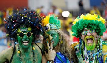 Фотогалерия: Феновете и футболът по време на световното в Русия
