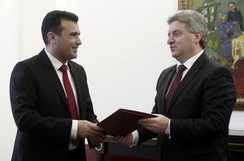 Управляващите в Македония може да опитат да отстранят президента, обяви Заев