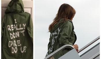 """Мелания Тръмп отиде при имигрантите с яке """"Наистина не ми пука"""""""