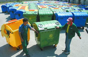 Повече цветни контейнери по улиците, или какво предвиждат промени в наредбата за отпадъците
