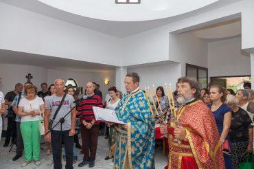 Осветиха новия храм в Дебел дял