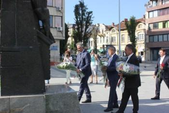 И в Плевен отбелязахме 181 години от рождението на Васил Левски