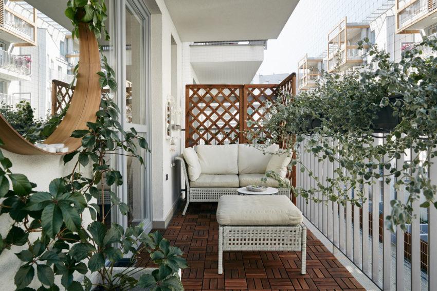 Прекрасен двустаен апартамент, проектиран от BLACKHAUS Architecture