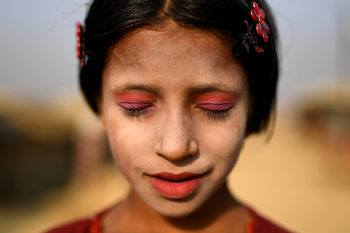 Фотогалерия: Традиции, изписани на лицето