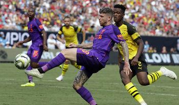 """""""Борусия"""" (Дортмунд) измъкна късен обрат срещу """"Ливърпул"""" в контрола в САЩ"""