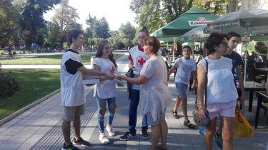 Доброволци раздаваха презервативи в първия ден на Националната антиспин кампания