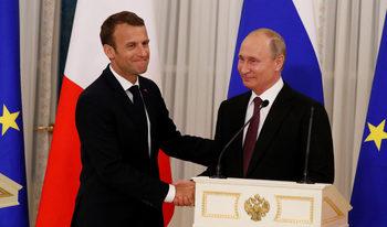 Путин може да посети Франция на 11 ноември