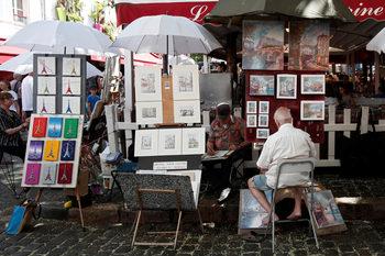 Парижките художници заплашват да избягат заради разширяването на кафенетата